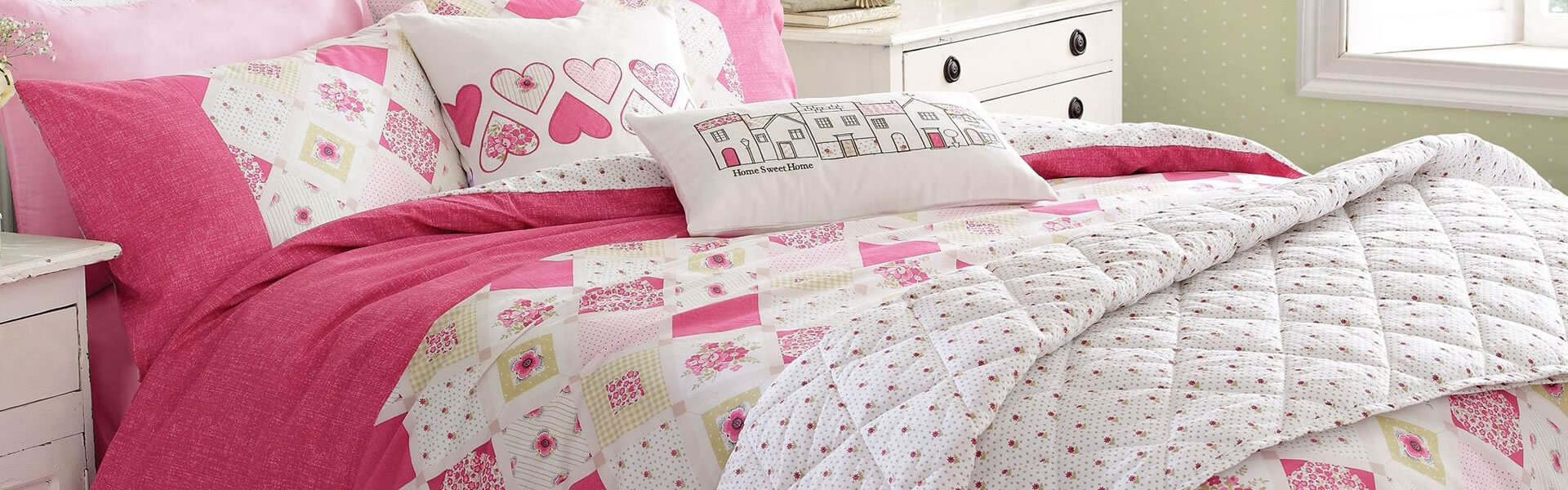 Bedroom Decorating Pink Hearts With The Furnishing Centre