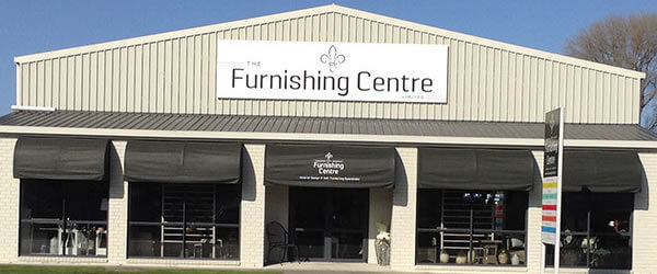 Exterior Front View Of The Furnishing Centre In Blenheim