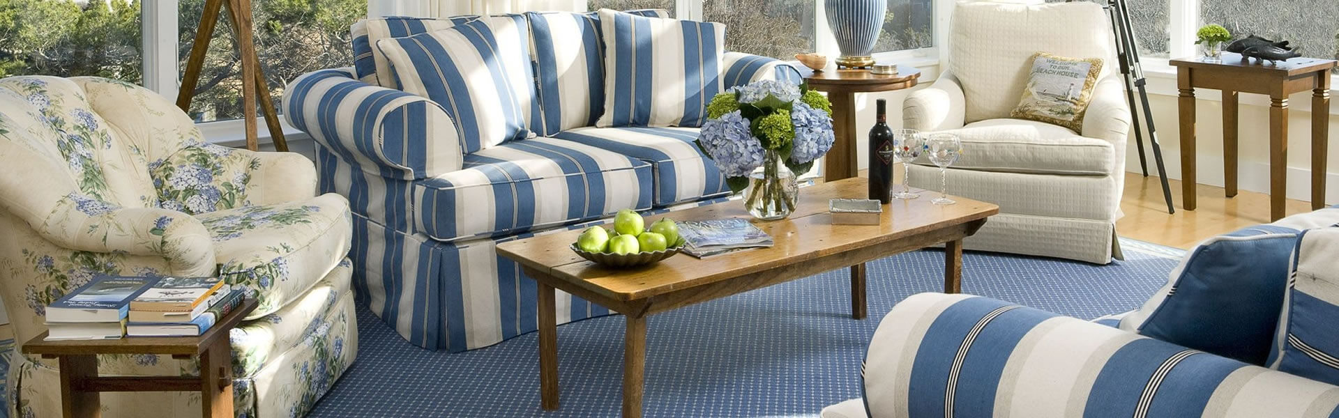 Hamptons Style Beach Look With The Furnishing Centre