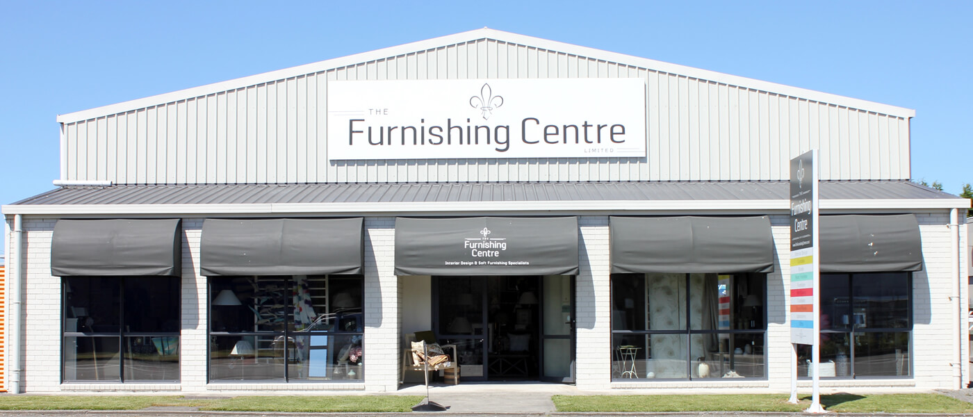 Storefront Of The Furnishing Centre In Blenheim